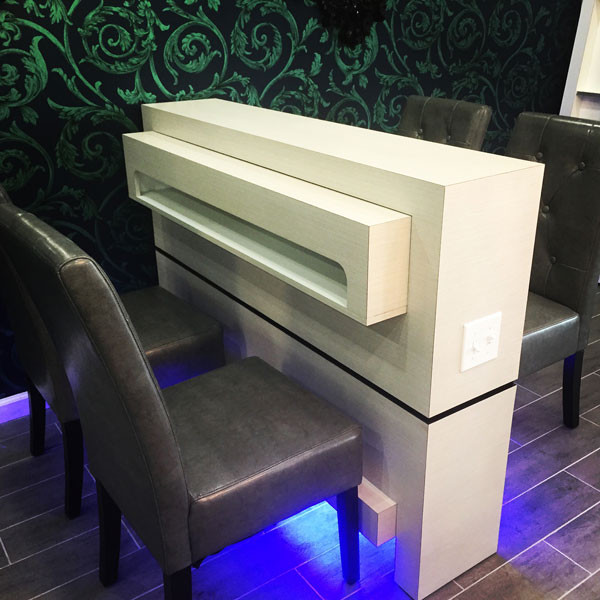 atlanta-nail-salon-drying-station - Treat Your Nails