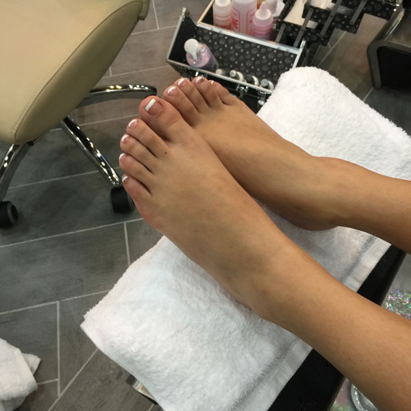 Pedicure at Treat Your Nails - An Atlanta Nails Salon